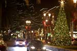 Santana Row Holiday Lights